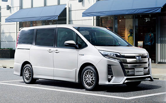 トヨタ ノア ハイブリッド 新型・現行モデル