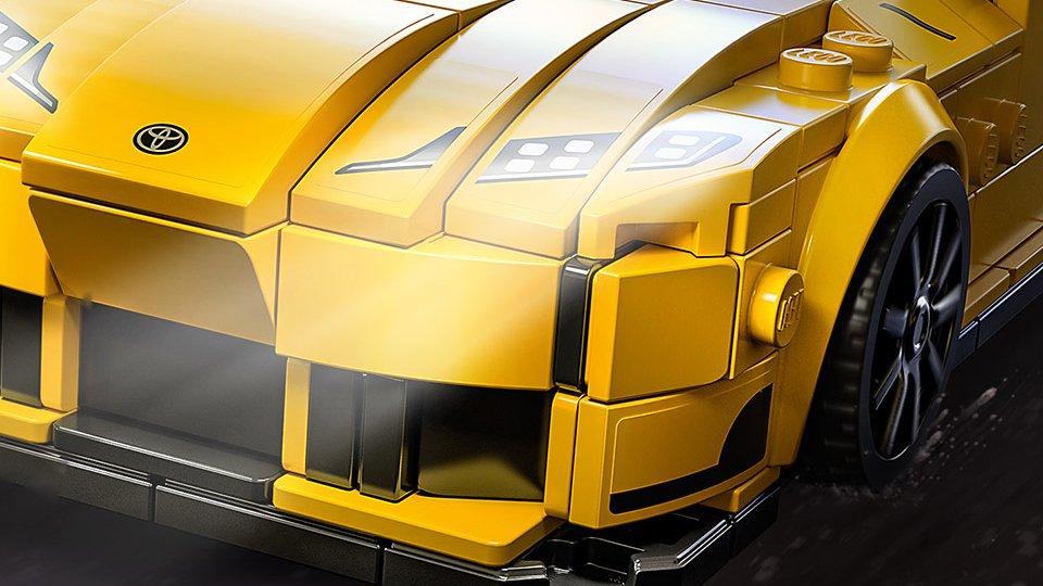 GRスープラが「レゴ」で爆誕!! トヨタとの初コラボはそっく…り…??