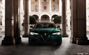 アルファロメオ ジュリアに特別なグリーンカラーを纏った限定車「ヴィスコンティ エディション」登場