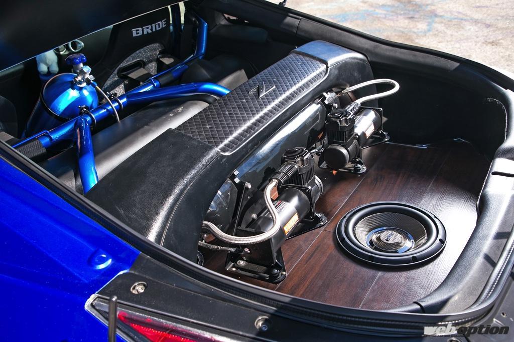 「アメリカンV8仕様のZ33が強烈すぎる!」熱血プライベーターによる野心作