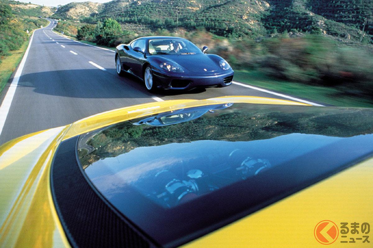感動間違いなし! フェラーリ「360モデナ」をサラリと乗るのがカッコイイ!!【映画の名車】