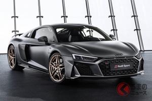 新型アウディR8発表! 限定車「R8 デセニウム」と新型「RS5 スポーツバック」もデビュー