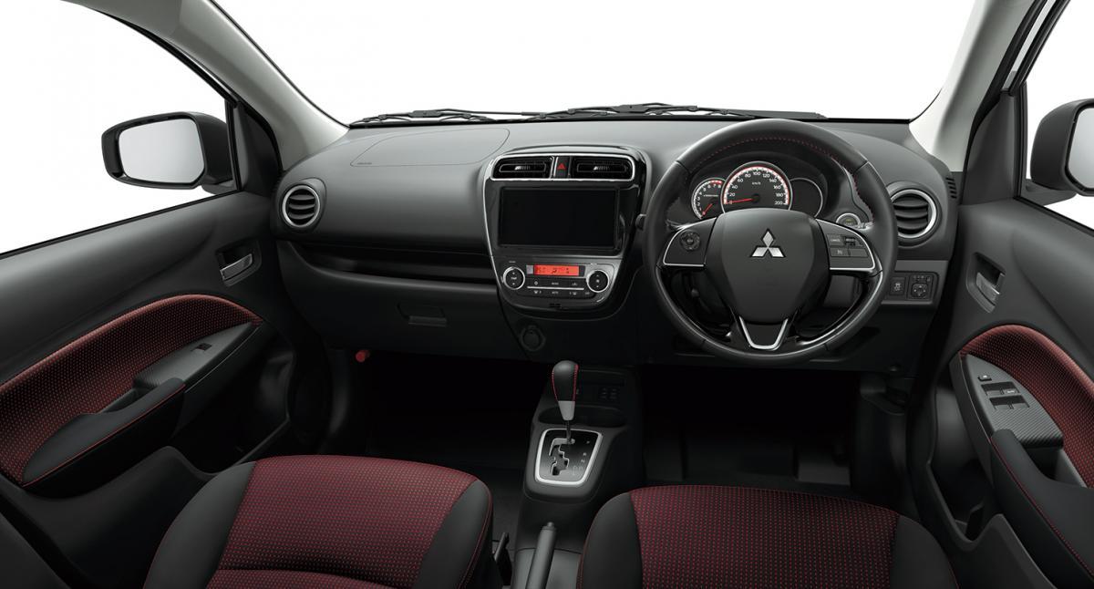 三菱ミラージュにスポーティさを際立たせた特別仕様車「ブラックエディション」を設定し発売