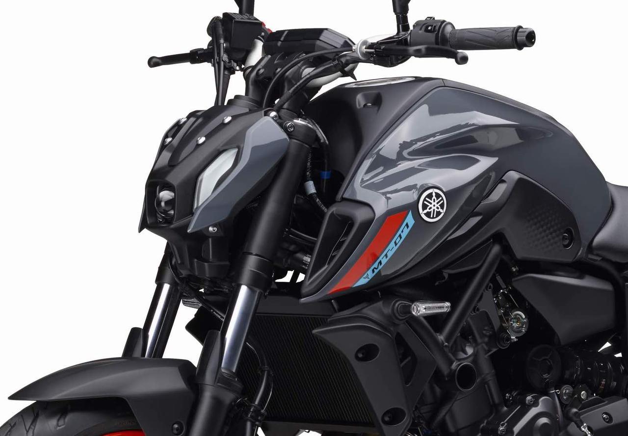 ヤマハが新型「MT-07」の国内仕様車を発表! 新デザイン採用・2気筒エンジンの熟成・ポジション変更も図るマイナーチェンジ