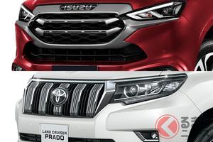 トヨタ・ランクルプラドのライバル!? いすゞ新型SUV「mu-X」と比較してみた!