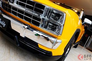 なぜアメ車風「RAV4」が人気に? ミツオカ初の新型SUV「バディ」が納車2年待ちでも殺到する訳