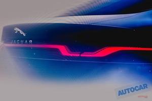 次期ジャガーXJ 大型EVサルーンのティーザー画像公開 2020年発売