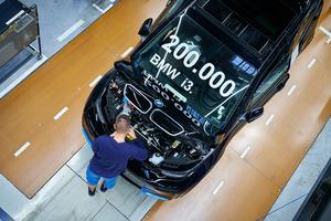 BMWのピュアEV、「i3」の累計生産が20万台を突破!