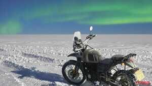 目指せ南極走破! ロイヤルエンフィールド「ヒマラヤ」の冒険が11月26日にはじまる