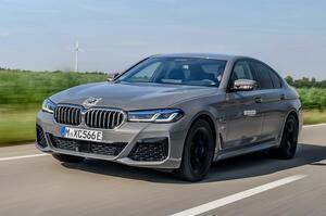 【運転の楽しさはPHEVで一番】BMW 545e プロトタイプ 3.0L直6採用 前編