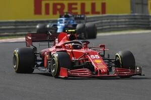 """フェラーリF1代表、ハンガリーでのサインツJr.とピットの""""無線での議論""""は「正しいことだった」"""