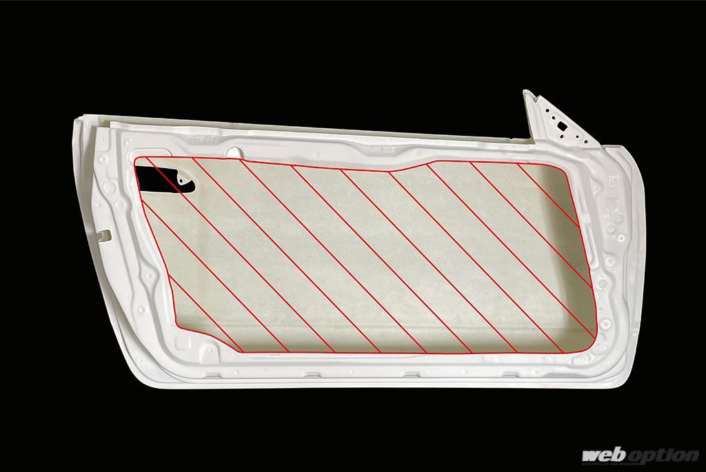 「左右で20キロ以上の軽量化が可能」S15シルビア用の超軽量ドアパネルが新登場!