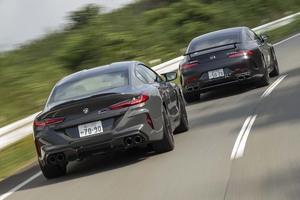 【比較試乗】「メルセデスAMG GT63 S 4マチック+ vs BMW M8グランクーペ・コンペティション」似て非なる高性能4ドアクーペの仕立て方