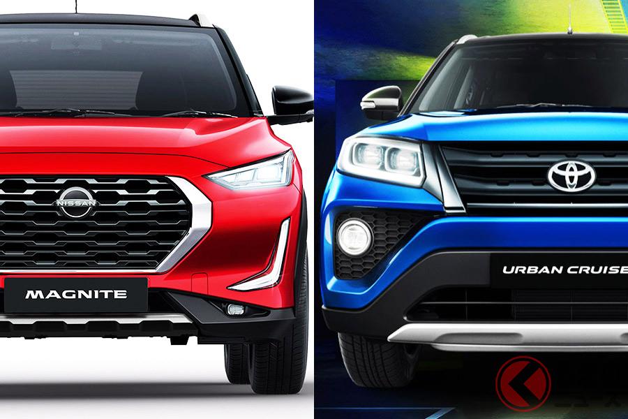日産最小SUVでGT-R技術も注入! 新型「マグナイト」とトヨタ「アーバンクルーザー」を徹底比較