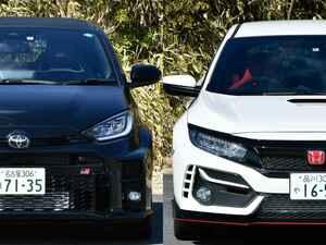 トヨタ GRヤリスと ホンダ シビック タイプR。最尖端スポーツ、それぞれの異次元