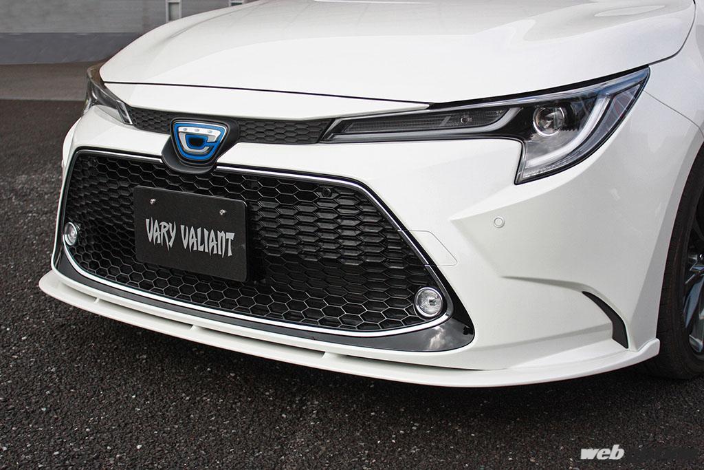 「カローラツーリングの精悍さが大幅アップ!」ガレージベリーのフロントリップスポイラーに大注目