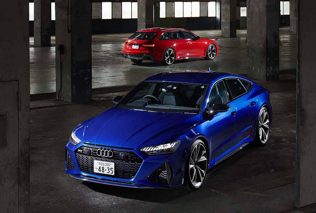「アウディ RS6 アバント vs RS7 スポーツバック」唯一無二の存在といえる、ワゴンとファストバックのトップ・オブ・ハイパフォーマー【2021 Audi RS SPECIAL】