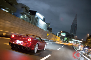 東京五輪でできたC1を、フェラーリ「カリフォルニアT」で周回する【首都高ループドライブ:02】
