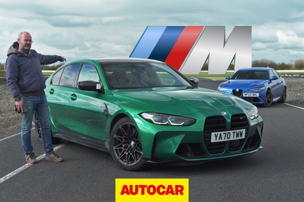 【字幕付き動画】BMW M3コンペティション vs アルファ・ロメオ・ジュリア・クアドリフォリオ 世界最高のスーパーサルーンは