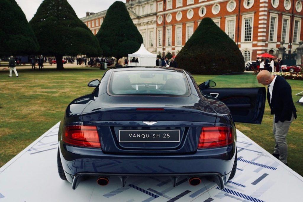 イアン・カラムが手掛けた25台だけのヴァンキッシュが英国コンクールで初公開