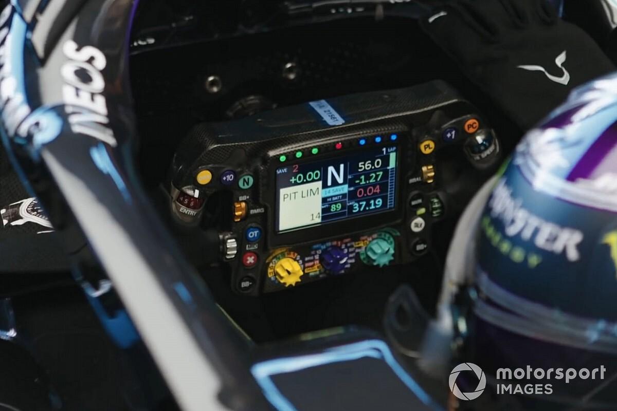 """メルセデスF1、痛恨の""""マジックボタン""""ミスを避けるためにフランスGPに向け小変更を加える?"""