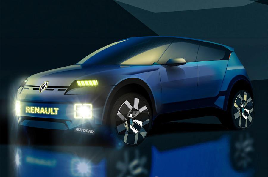 【レトロでお高いEV】新型ルノー「4ever」 高級路線のクロスオーバーに 2025年発売予定