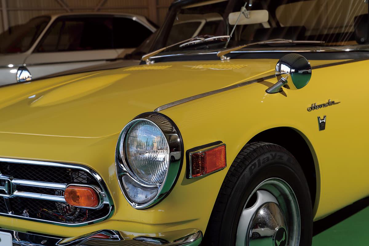 旧車好きが高じて事業も立ち上げ! ブレーキメーカー会長が溺愛する「ホンダS800M」