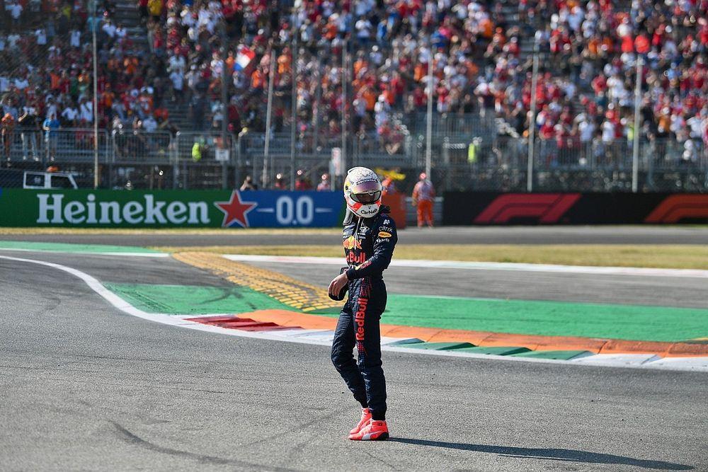 """フェルスタッペン、イタリアGPでの事故後""""立ち去り""""に関する批判に反論「世界には偽善者がたくさんいる」"""