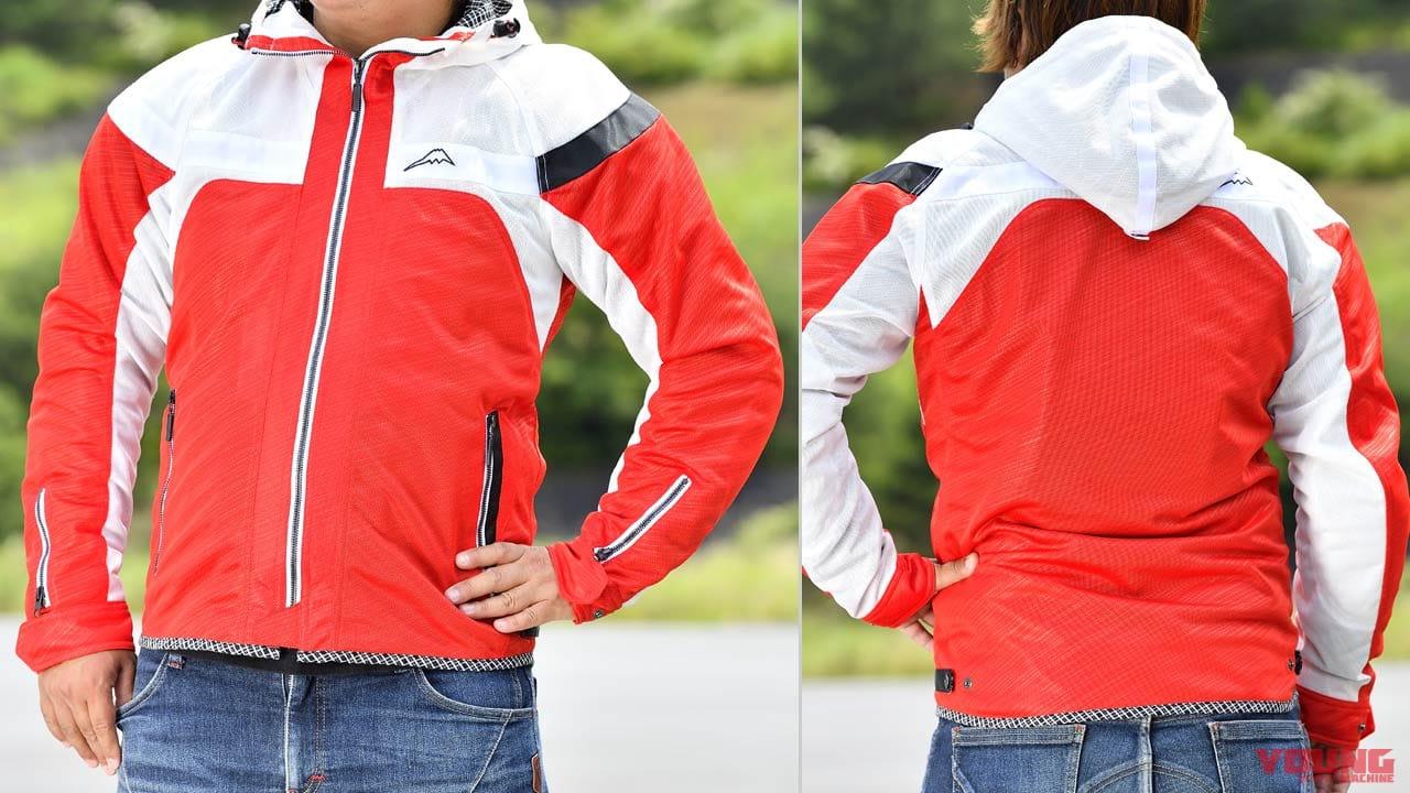 クシタニ フルメッシュパーカージャケット試用インプレッション【袖形状の見直しでよりカジュアルに】