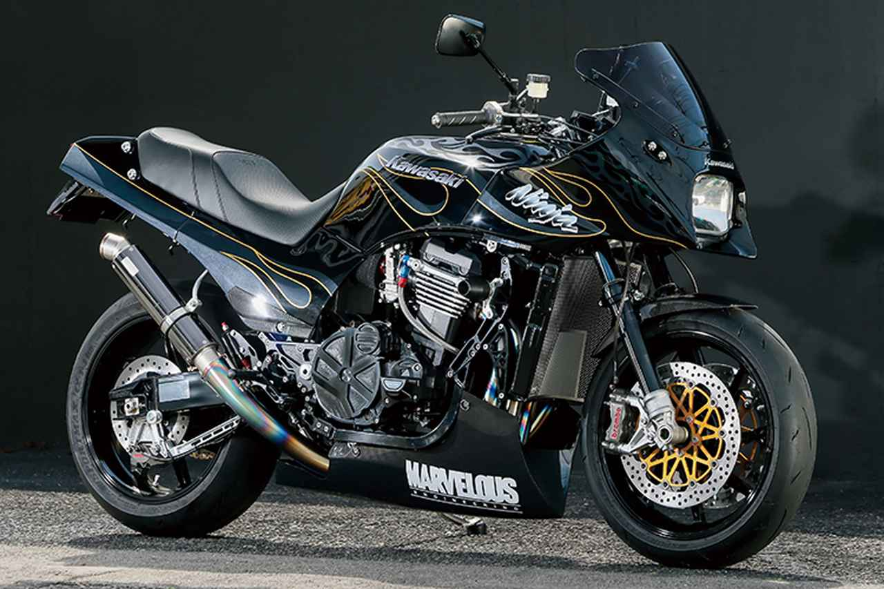 マーベラスエンジニアリングGPZ900R(カワサキGPZ900R)A6をオマージュしながら最新技術を注入【Heritage&Legends】