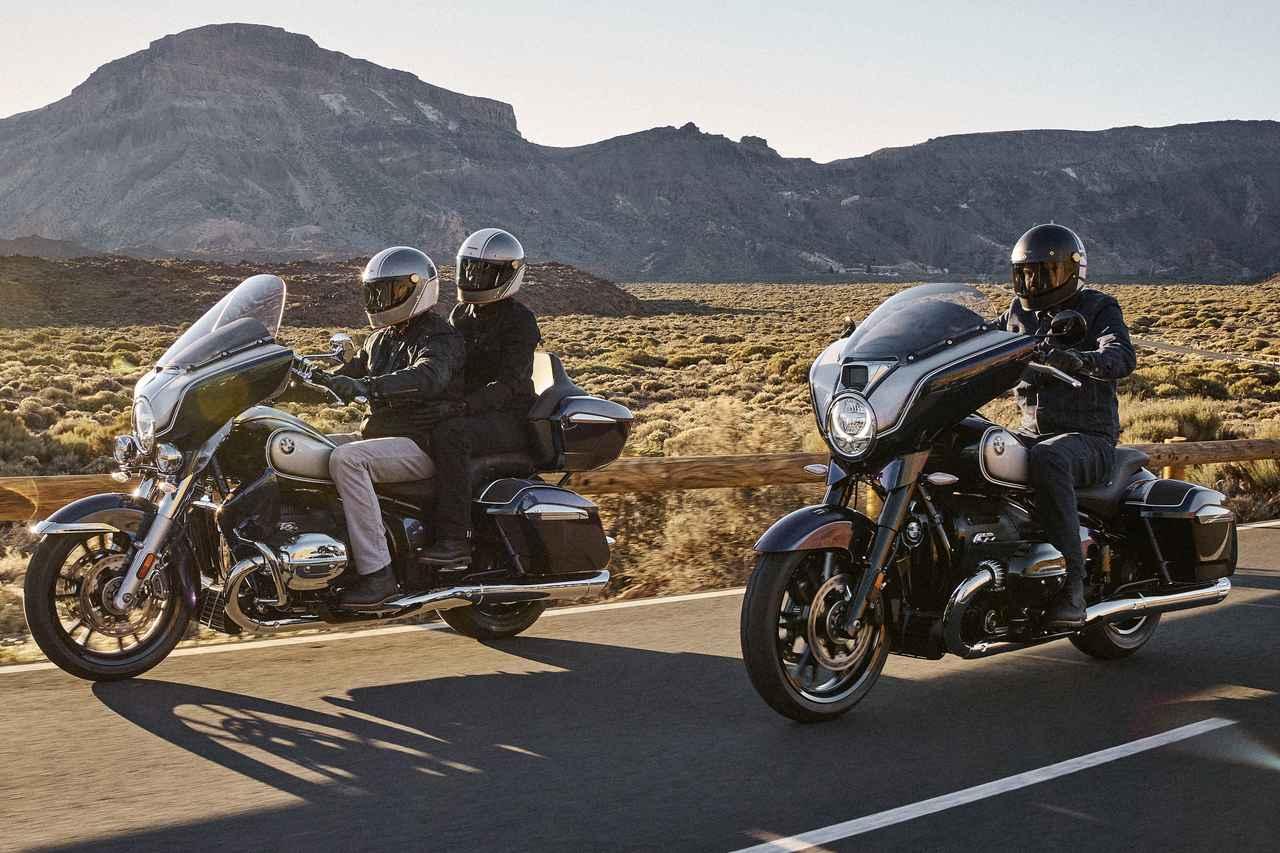 BMW「R18」シリーズの新モデルが登場! 豪華クルーザーの「R18トランスコンチネンタル」とバガースタイルの「R18B」