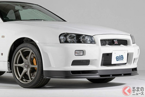 6000万円超えの日産「34型GT-R」 19年前の国産スポーツカーに破格の値が付けられた理由とは