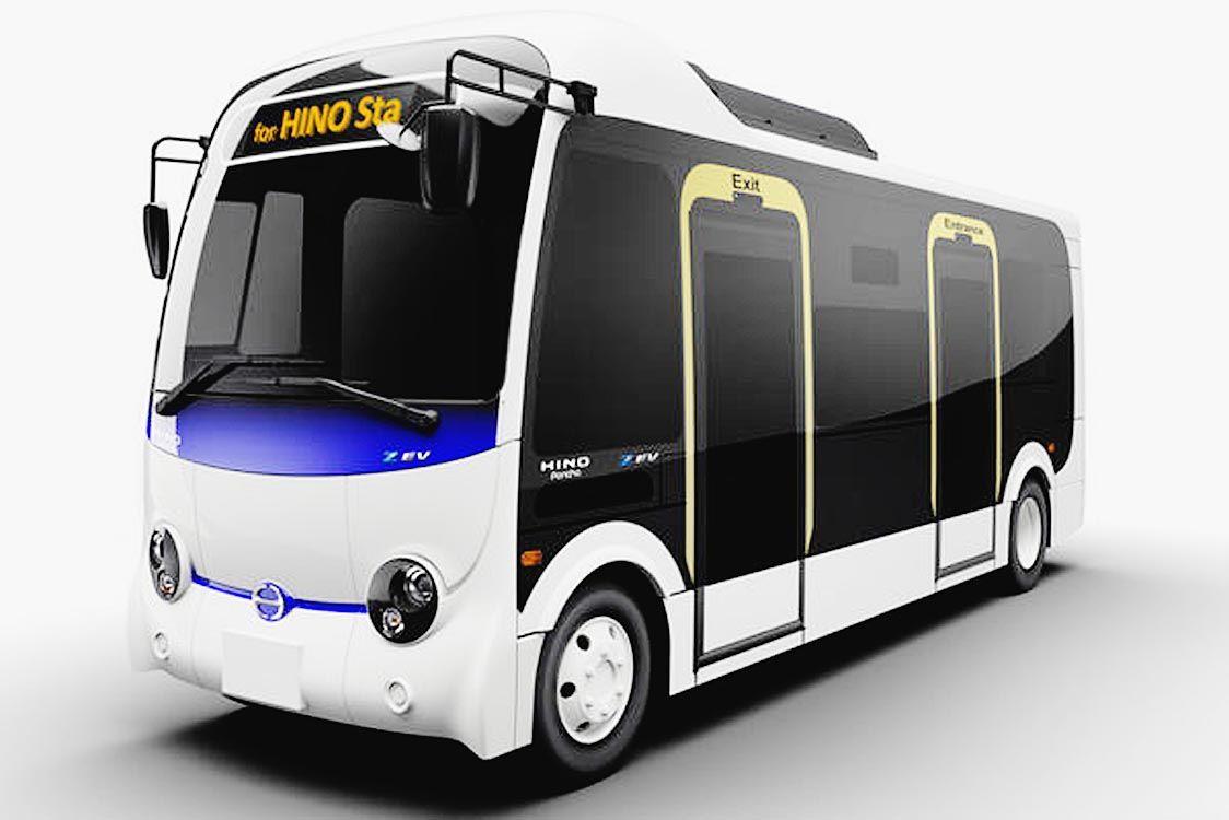 日野が小型EVバス「ポンチョZ EV」、BYDからOEM受け2022年春に発売