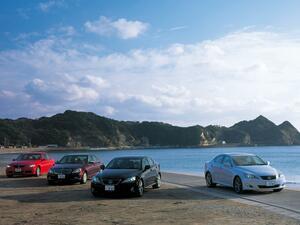 【ヒットの法則400】レクサスISとBMW3シリーズ、メルセデスCクラスの同時試乗で見えた3車の位置