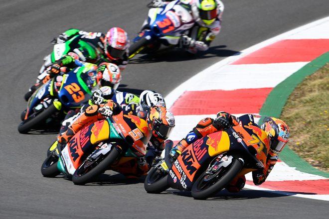 Moto3:佐々木歩夢、表彰台逃すも4位の結果に「悔しい思い。それでも素晴らしいレースができた」/MotoGP第3戦ポルトガルGP