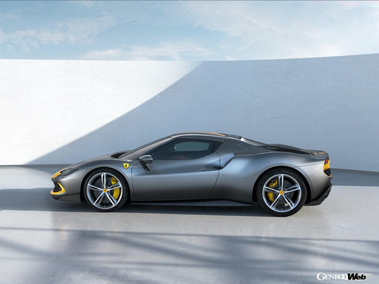 新型フェラーリ 296 GTBを徹底解剖! V6ターボ+電動モーターにより最高出力は830psを達成!