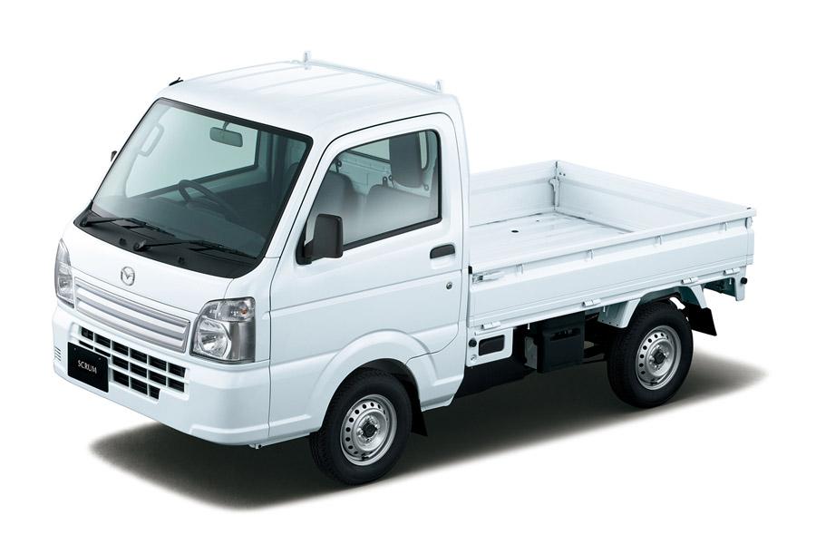 マツダ 軽自動車「スクラムトラック」を一部改良