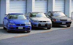 日本車史上最高傑作の第二世代スカイラインGT-R! 「R32」「R33」「R34」の違いといまの中古車相場