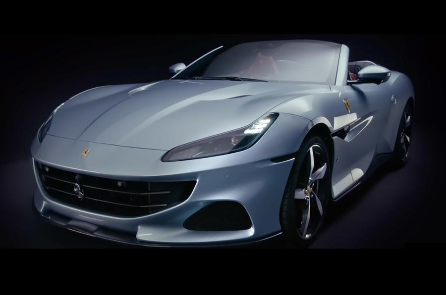 【20psアップ】フェラーリ・ポルトフィーノM 4座オープンGTが改良新型に 8速DCT化