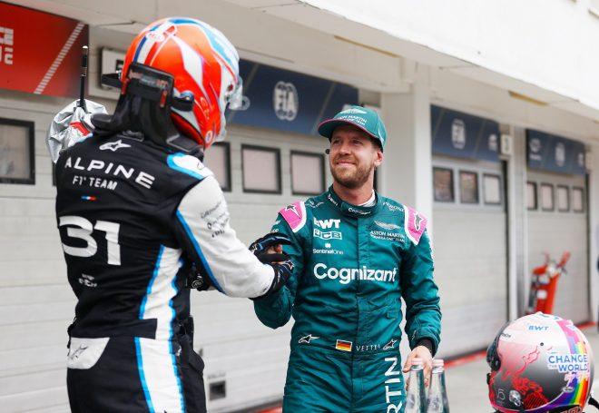 2位フィニッシュのベッテル「オコンはひとつもミスを犯さなかった。この勝利にふさわしい」F1第11戦決勝