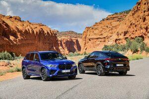 """BMWの人気SUV「 X5 & X6」に伝統のMを追加。ハイエンドの""""コンペティション""""もラインナップ"""