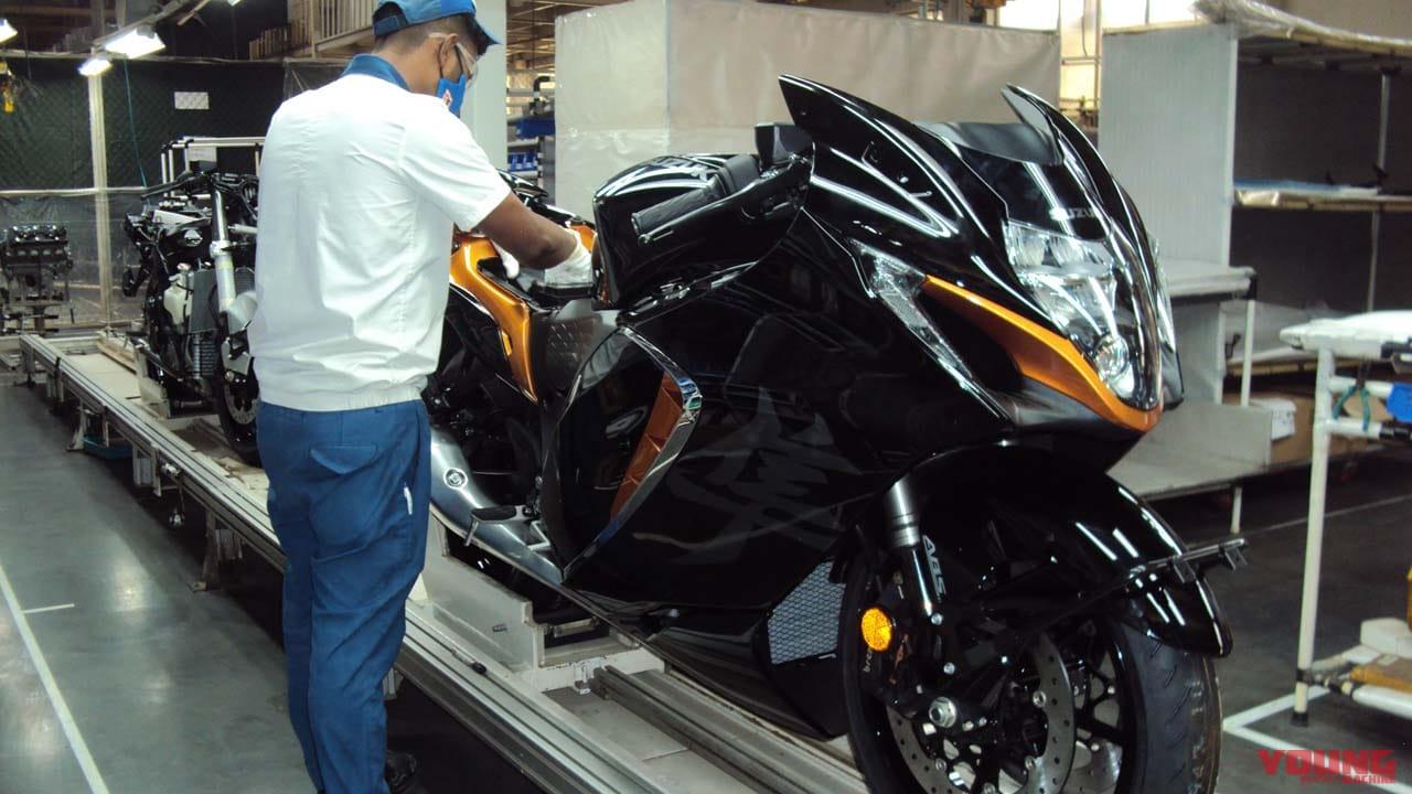 スズキ新型「ハヤブサ」がインドでも発売! 組み立ては技術力に長けた現地法人が行う