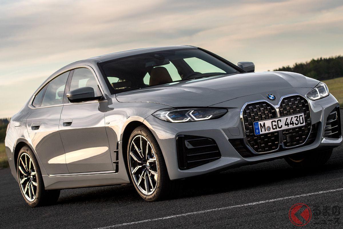 BMW「4シリーズ グランクーペ」日本初登場! Mモデル「M440iグランクーペ」も同時上陸