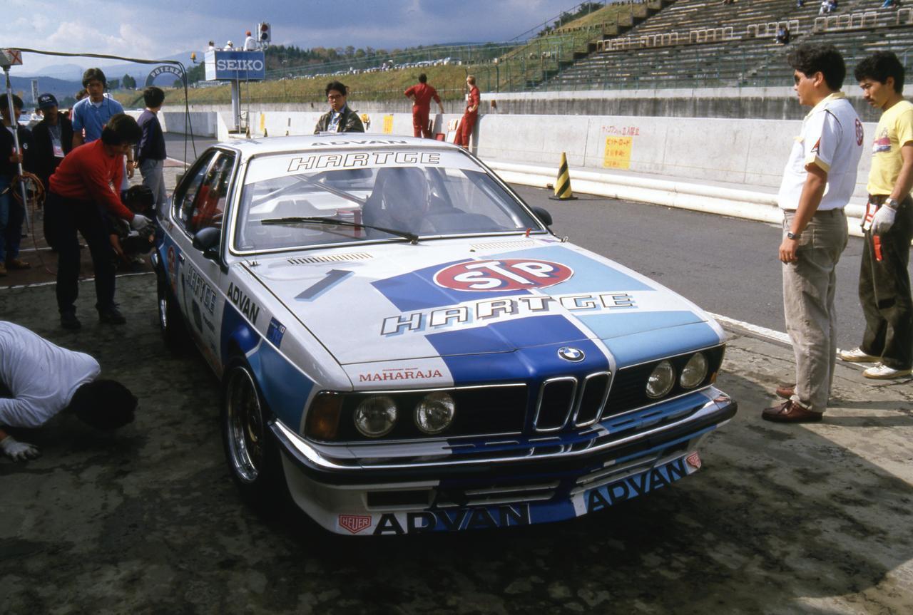 【グループAの名車 03】1983年ETCの覇者がやってきた!「ハルトゲBMW 635CSi」が1985インターTECで3位に入る