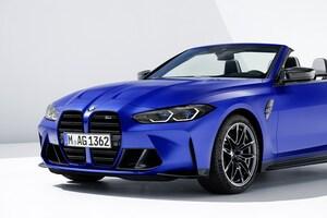 新型BMW M4のオープン版発表。当面は4WD×8速ATのみ、0-100加速は0.6秒短縮の3.7秒に