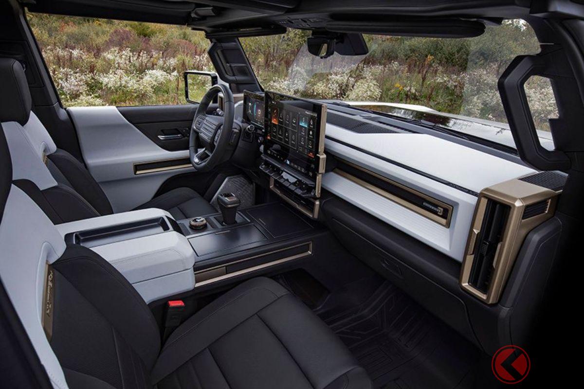 830馬力の電動アメリカン・ハイパーSUV爆誕! 「ハマーEV SUV」世界初公開