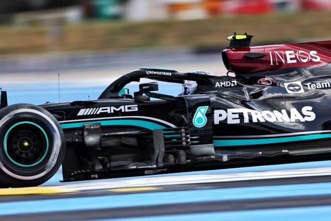 フランスGP FP1:ボッタスが首位。レッドブル・ホンダは3&4番手、角田裕毅は10番手につける