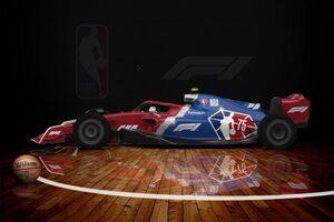 F1アメリカGP復活を祝しNBAがF1とコラボレーション。全30チームのカラー画像を配信