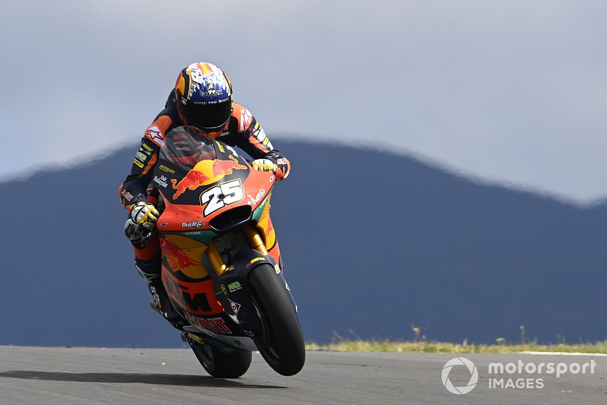 Moto2ポルトガル決勝:予選4番手の小椋藍、転倒リタイアで終わる。デビュー3戦目ラウル・フェルナンデスが初優勝