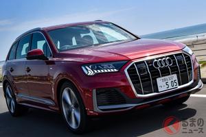 アウディ人気のSUV新型「Q7」が日本上陸 V6モデルは48Vマイルドハイブリッド採用